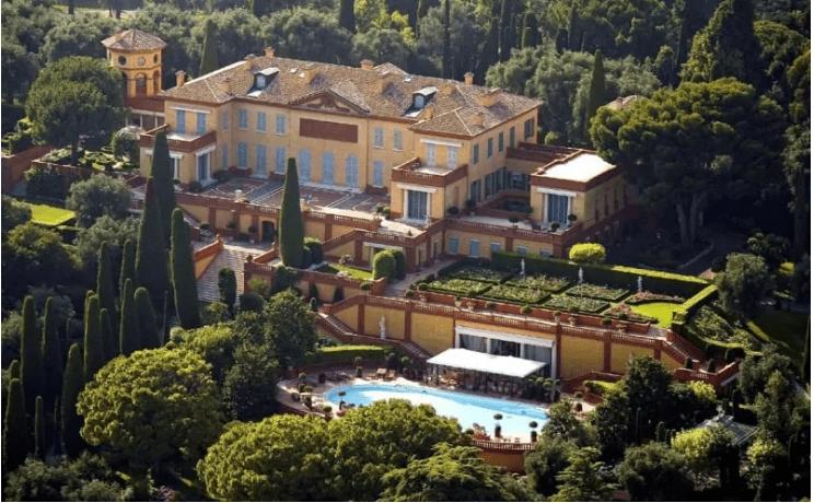 הבית של האיש הכי עשיר בעולם