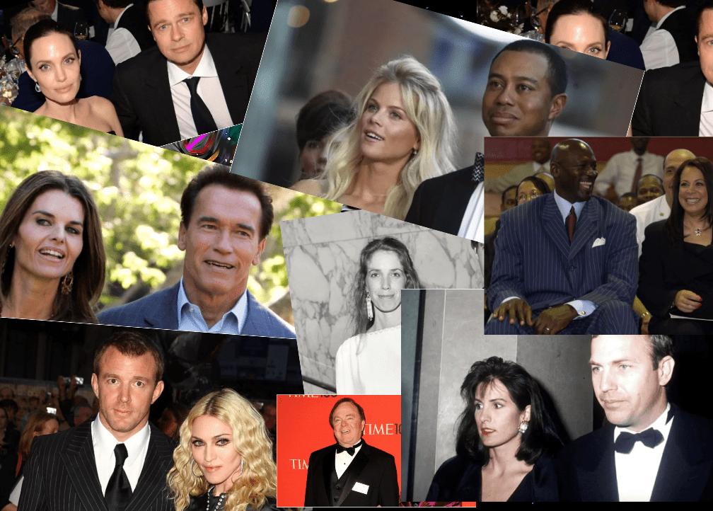 20 הגירושין היקרים ביותר בעולם