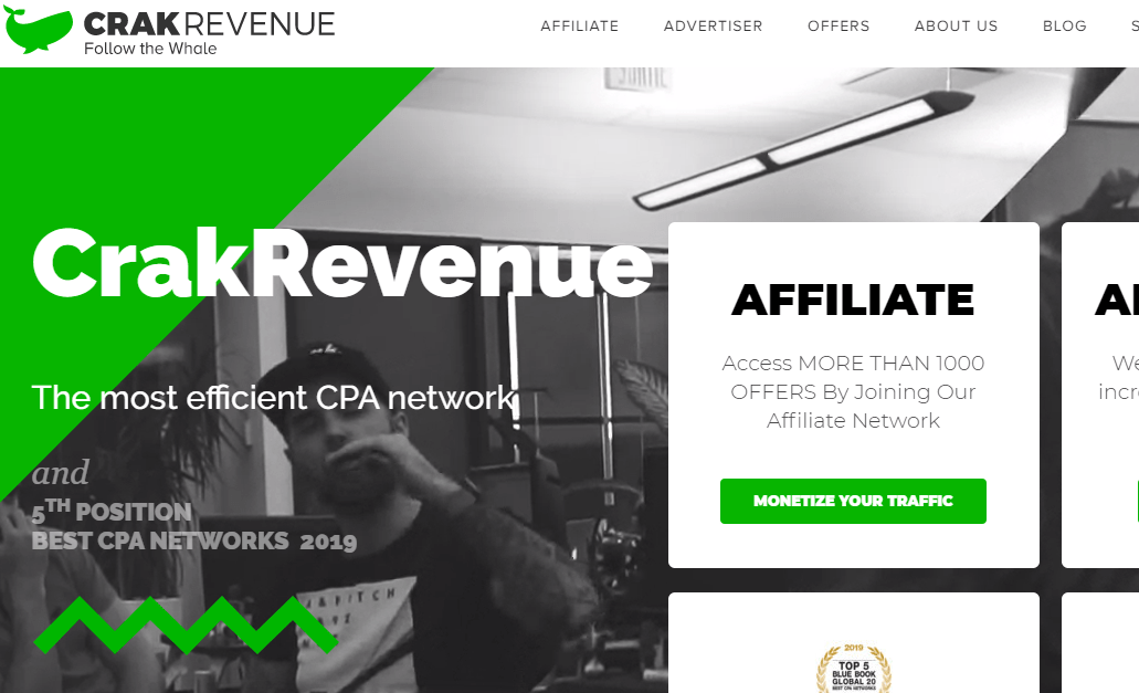 איך להרוויח כסף באינטרנט באמצעות רשת השותפים הסלולרית של crakrevenue
