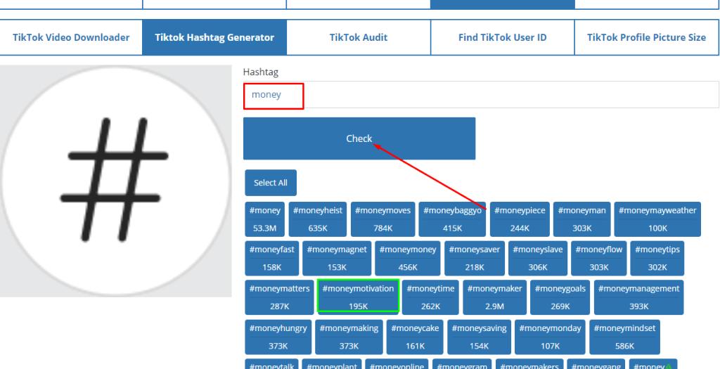 האשטאג הכי פופולרים לטיקטוק TikTok ואיך להעלות עוקבים בחינם