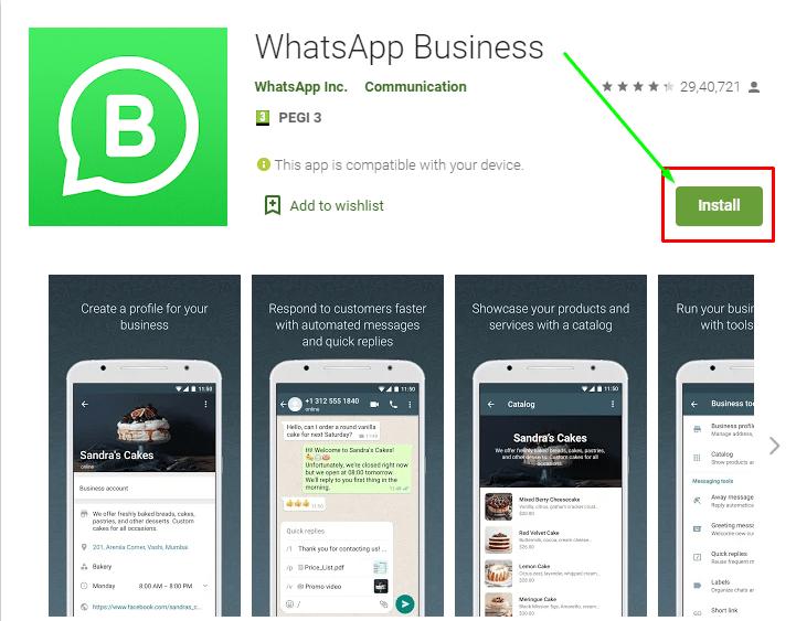 איך לפתוח חשבון וואטסאפ עסקי - WhatsApp Business