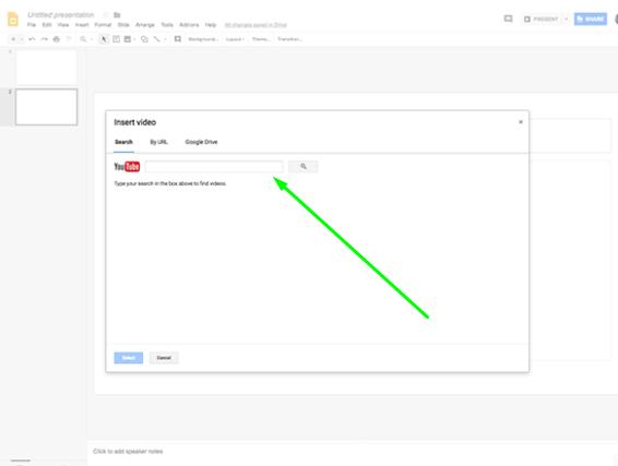 איך מוסיפים סרטון למצגת -  מדריך גוגל סליידס
