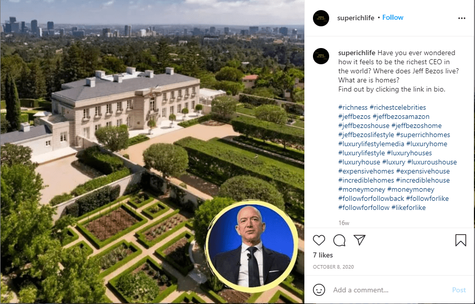 הבית של האיש הכי עשיר בעולם רק 165 מיליון דולר