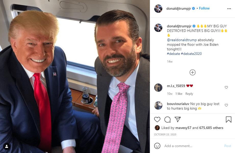 """כמה כסף שווה הבן של נשיא ארה""""ב לשעבר דונלד טראמפ ג'וניור"""