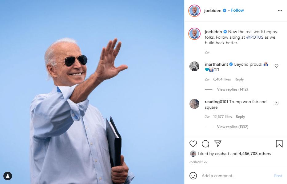 כמה כסף שווה נשיא ארצות הברית ג'ו ביידן