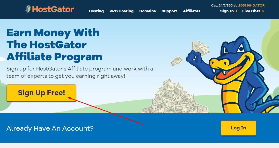 איך להרוויח כסף עם תוכנית השותפים של Hostgator
