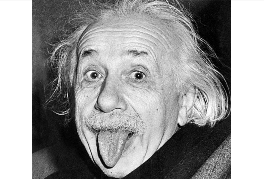 חתימה של אלברט איינשטיין