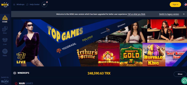איך לקנות את מטבע הקריפטו של המשחקים באינטרנט (WINK ׁ – (WIN